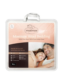 Moemoe 100 Percent NZ Wool Duvet Inner - Everyday Weight King