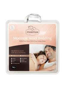 Moemoe 100 Percent NZ Wool Mattress Topper Super King