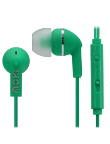 Moki Noise Isolation Earbuds with microphone & control