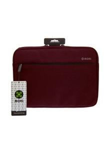 """Moki 13.3"""" Transporter Laptop SleeveBurgundy"""