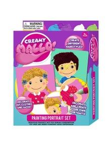 Creamy Mallo Painting Portrait Set