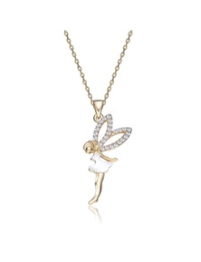 Mestige Fairy Dust Necklace with Swarovski Crystals