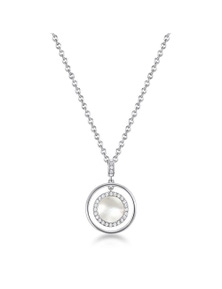 Mestige Touchstone Necklace with Swarovski Crystals