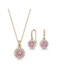 Mestige Nylah Set with Pink Swarovski Crystals