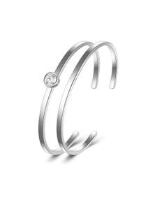 Mestige Kaia Bangle Set with Swarovski Crystals Bracelet