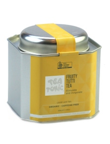 Fruity Tutti Tea Loose Leaf Caddy Tin