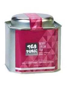 Berry Green Tea Loose Leaf Caddy Tin