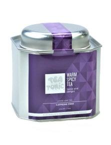 Warm Spicy Tea Loose Leaf Caddy Tin