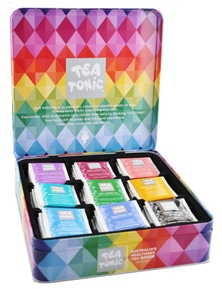 Tea Tonic Deluxe Diamond Chest 63 Teabags - 9 Cavitys