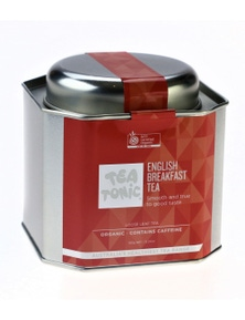 English Breakfast Tea Loose Leaf Caddy Tin