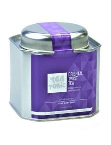 Oriental Twist Tea Loose Leaf Caddy Tin