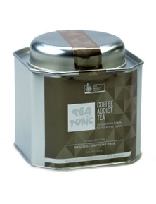 Coffee Addict Loose Leaf Caddy Tin