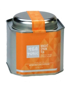 Bright Spark Tea Loose Leaf Caddy Tin
