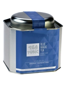 Blue Magic Tea Loose Leaf Caddy Tin