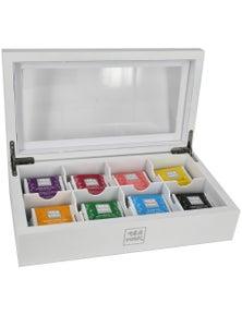 White Wooden Luxury Tea Chest