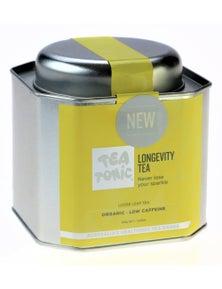 Longevity Tea Loose Leaf Caddy Tin