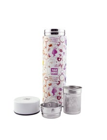 Tea Tonic Thermal Tea Bottle with Infuser 450ml - Rainbow