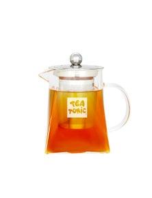 Tea Tonic Square Glass Tea Pot 400ml - 2 Cups