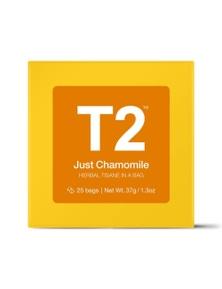 T2 Teabags - Just Chamomile Bio Tbag 25pk Y/B
