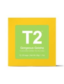 T2 Teabags - Gorgeous Geisha Bio Tbag 25pk Y/B