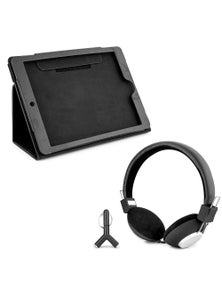 DGTEC Travel Entertainment Kit Headphones + Bonus iPad Case