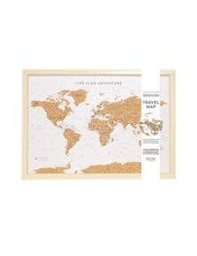 Splosh Travel Board Small World Map
