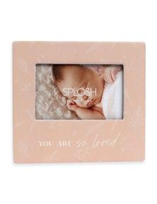 Splosh Baby Loved Photo Frame