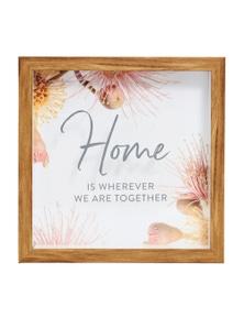 Splosh Flourish Home 3D Frame