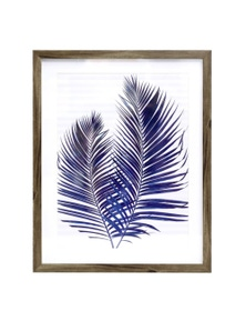 Splosh Soph Hamptons Palms Framed Art 44x54