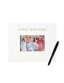 Splosh Happy Birthday Signature Frame