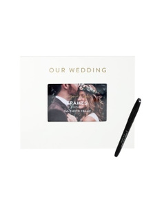 Splosh Wedding Signature Frame