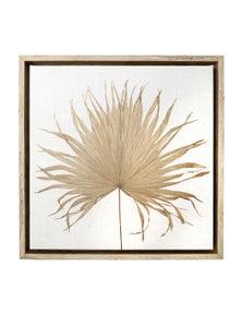 Splosh Byron Bliss Frond Framed Canvas 34x34