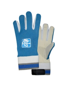 Spartan Cricket Chamois Leather Palm Padded Inners Wicked Keeping Glove Boys