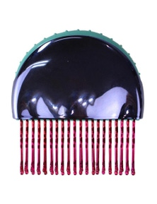 INDULGE HAIRBRUSH 2 IN 1 HAIR COMB HAIRDRESSING STYLING