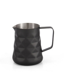 Classica Matte Black Stainles Steel Milk Frothing Jug - 600ml