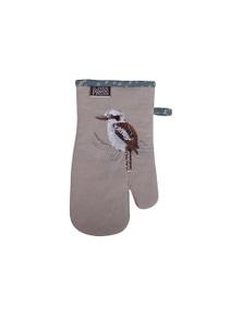 The Linen Press - Kookaburra & Banksia - Single Mitt