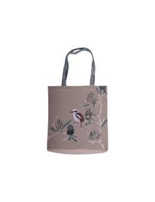 The Linen Press - Kookaburra & Banksia - Shopper Bag