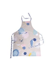 The Linen Press - Wild Blue Wren - Pastel - Apron