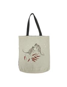 The Linen Press - Dusk Gathering - Numbat - Shopper Bag