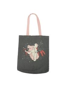 The Linen Press - Dusk Gathering - Koala - Shopper Bag