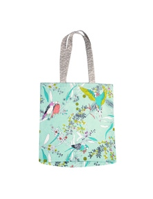 The Linen Press - Dawn Chorus - Shopper Bag