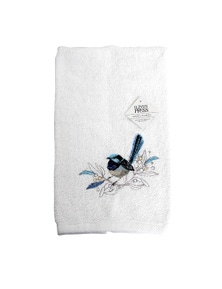 The Linen Press - Blue Wren - Handtowel
