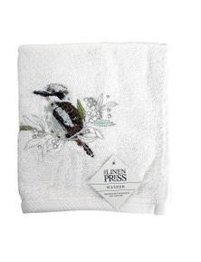 The Linen Press - Kookaburra - Face Washer