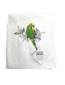 The Linen Press - Budgerigar - Face Washer