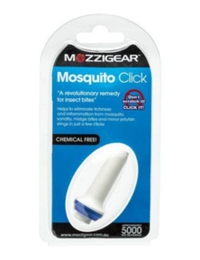 Mozzigear Mosquito Click Key Ring Insect Repellant Repellent