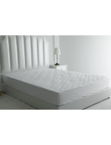 Bonwin Homewares Quilted Cotton Covered Waterproof Mattress Protector