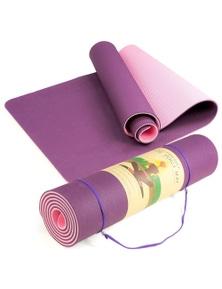 YOGA MAT Non-Slip Light Gym Fitness Home Exercise 1830x610x6mm Pilates