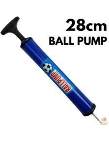 28cm BALL PUMP Air Inflator Soccer Basketball Football Needle Fitness Portable