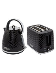 Westinghouse 1.7L Kettle and Toaster Pack - Black