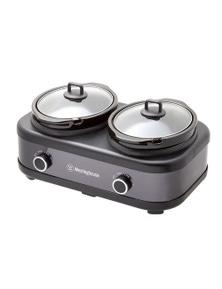 Westinghouse 2 Pot Non-Stick Slow Cooker